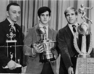 1970 Stoddard bowl winning co-captains Larry Greenberg and Ray Tencza