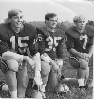 1970 (left to right) Steve Crone, Roger Smith, and Ray Tencza